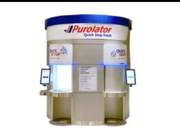 Purolator quick stop